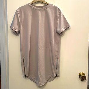 Men's side zip street shirt